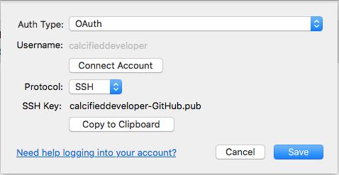 macOS – C/ALcified Developer